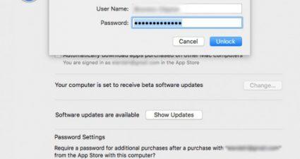 Уязвимость в macOS High Sierra позволяет использовать любой пароль для доступа